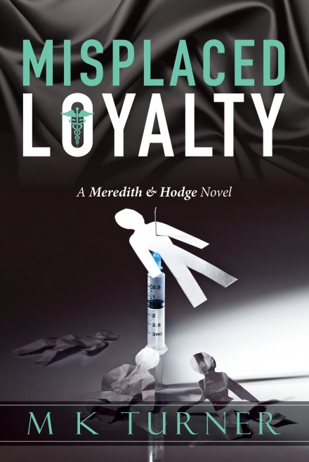 Misplaced Loyalty font cover only